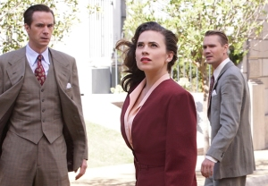 Agent Carter Season 2 Finale Peggy Sousa Kiss