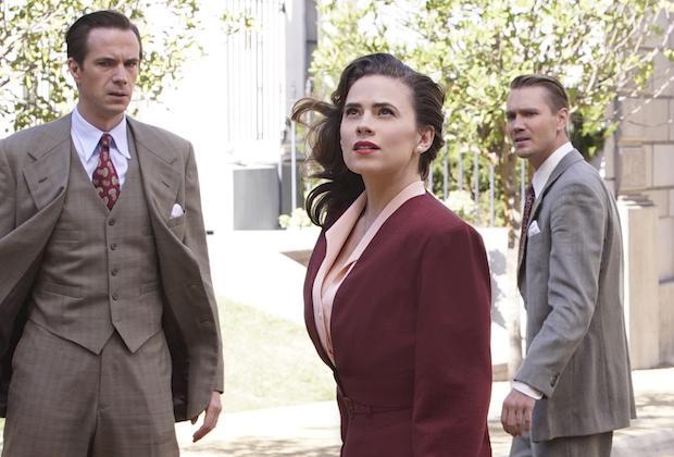 Agent Carter Season 2 Finale Peggy Sousa Kiss