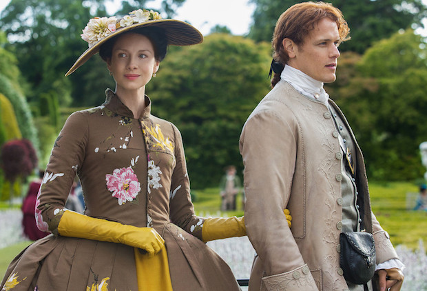 Outlander Season 2 Sam Heughan Caitriona Balfe