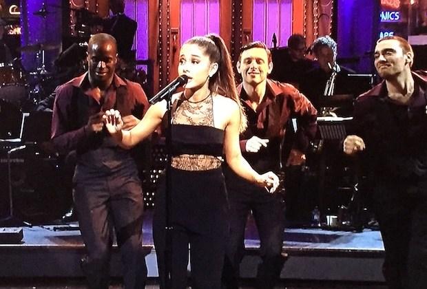 SNL Ariana Grande Shit