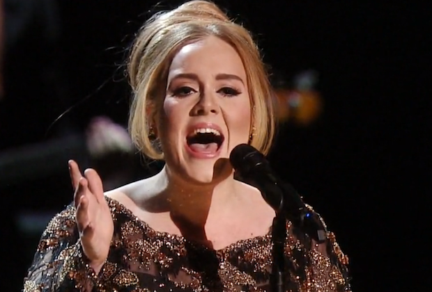 Adele concert five new songs
