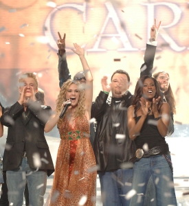 Carrie Underwood Wins American Idol
