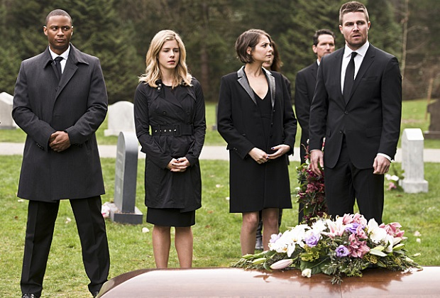 Arrow Laurel's Funeral