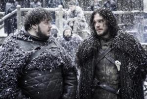 Game of Thrones Sam Jon Season 6