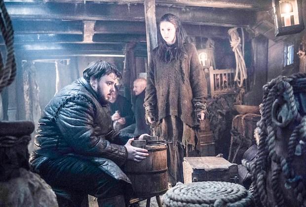 Game of Thrones Sam Season 6 Jon