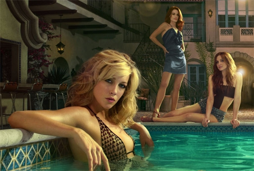 Katie Cassidy Melrose Place