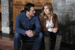 """NASHVILLE - """"Baby Come Home"""" - Rayna and Deacon try everything they can think of to reunite with Maddie and avoid court, even involving Teddy (Eric Close) from jail. Juliette tries to rekindle her relationship with Avery, and her success on tour stokes Layla's jealousy, personally and professionally. Luke Wheeler leverages his own appearance on """"Good Morning America"""" with Robin Roberts to try to jump start Will Lexington's career, on """"Nashville,"""" WEDNESDAY, APRIL 27 (10:00-11:00 p.m. EDT), on the ABC Television Network. (ABC/Mark Levine) CHARLES ESTEN, CONNIE BRITTON"""