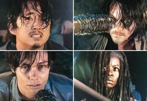 The Walking Dead Glenn or Daryl