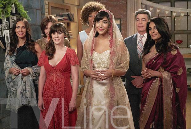 New Girl Wedding