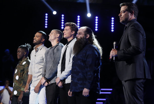 the voice recap results