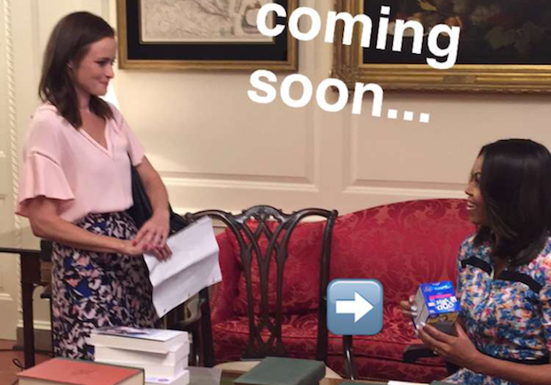 Gilmore Girls Revival Michelle Obama Netflix