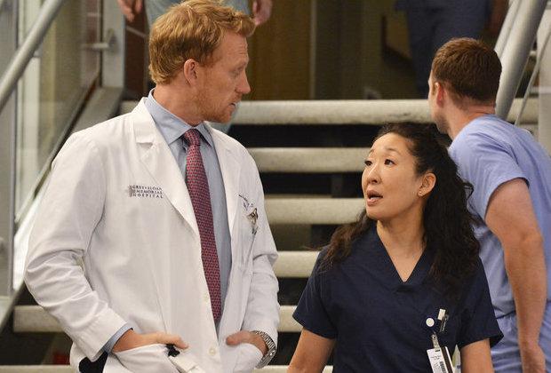 Grey's Anatomy Sandra Oh Owen Remarriage