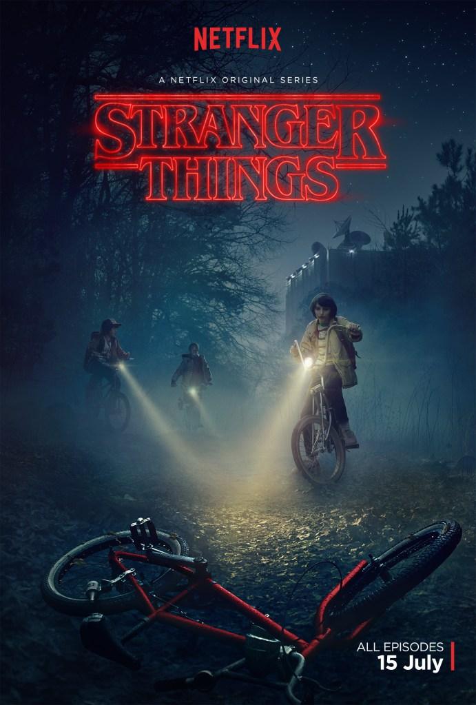 Stranger Things Poster Netflix Trailer