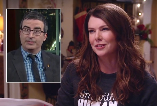 Gilmore Girls Revival John Oliver