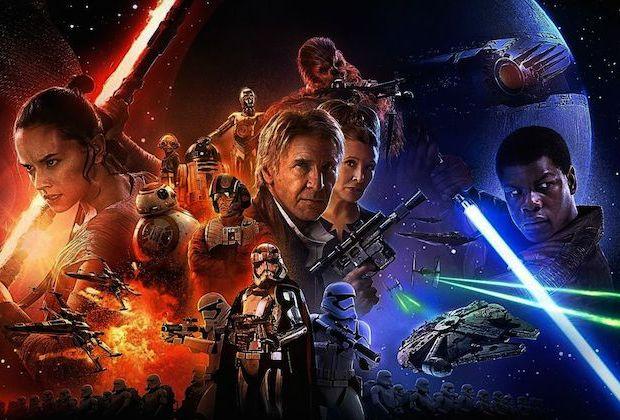 Star Wars The Force Awakens TV Premiere Date Starz