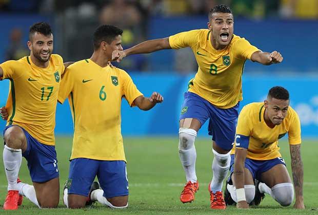 Brazil Men's Soccer Olympics
