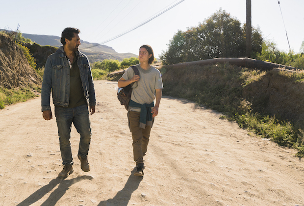 fear the walking dead season 2 episode 10 cliff curtis lorenzo james henrie