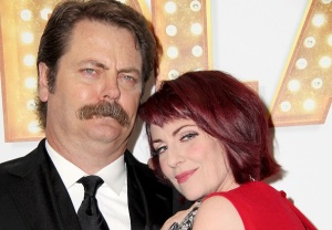 Nick Offerman Megan Mullally Life in Pieces
