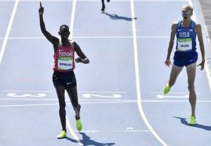 Olympics 2016 Conseslus Kipruto Day 12 Best Moments