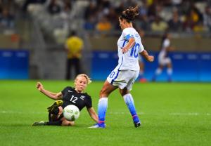 Olympics 2016 Women's Soccer United States New Zealand