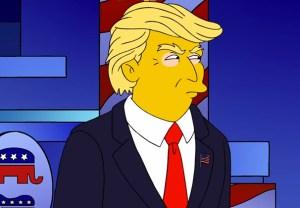 The SImpsons Donald Trump Episode
