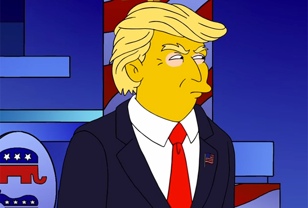 The SImpsons Donald Trump Episode