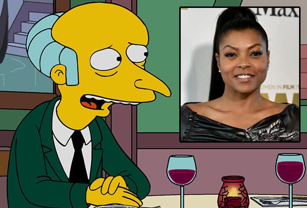 The Simpsons Taraji P. Henson