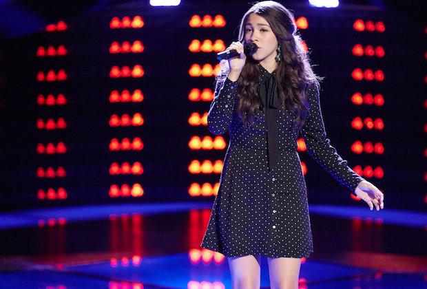 Halle Tomlinson the voice