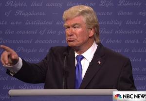 Baldwin SNL Trump Debut