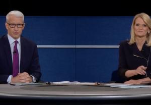 Anderson Cooper Martha Raddatz Presidential Debate Moderators Trump Clinton