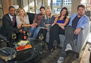 Happy Endings Reunion ABC Lost Episode