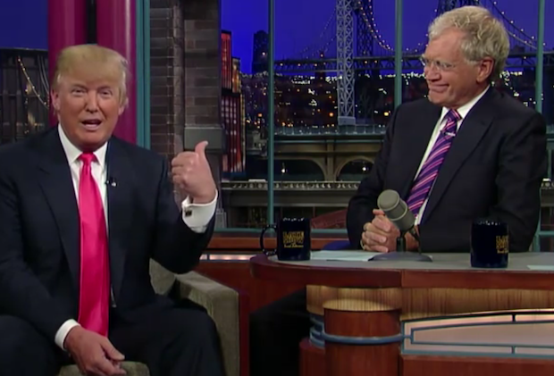Letterman and Trump