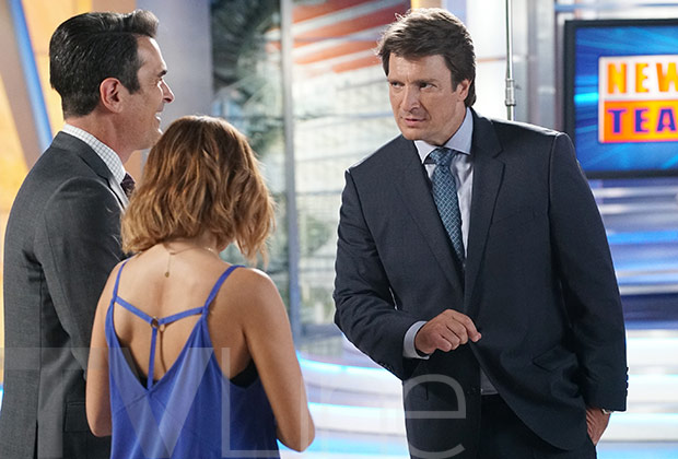 Nathan Fillion on Modern Family