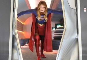 Supergirl Batman Reference