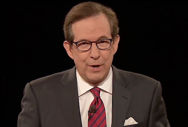 Third Presidential Debate Chris Wallace Moderator Trump Clinton