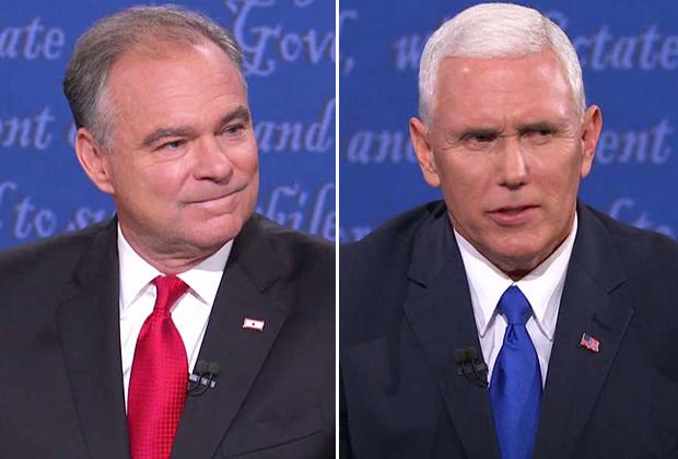 Vice-Presidential Debate Winners Losers