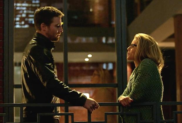 Arrow Season 5 Oliver Felicity Talk