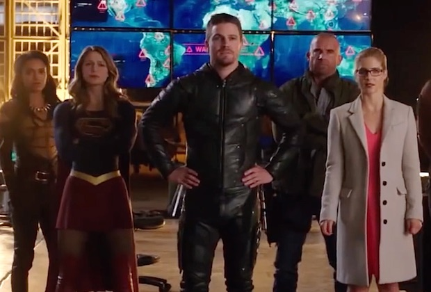 Arrow Flash Supergirl Crossover Spoilers