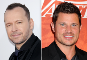 Donnie Wahlberg Nick Lachey CBS Boy Band Comedy Encore