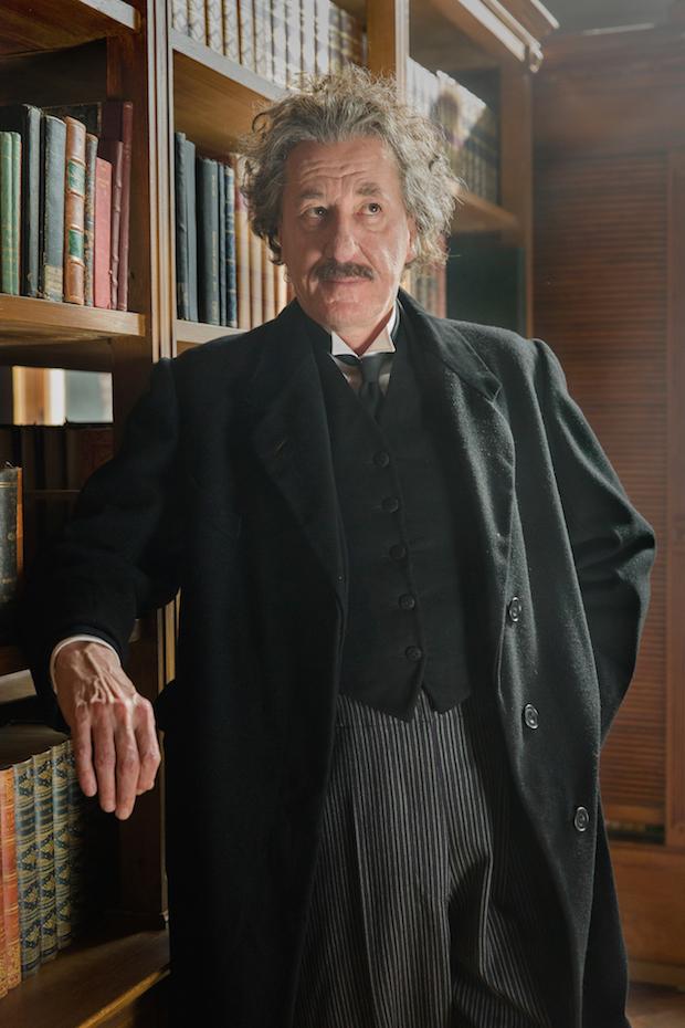 Geoffrey Rush Albert Einstein National Geographic Genius