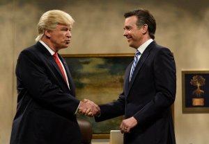 SNL Trump Romney Sudeikis