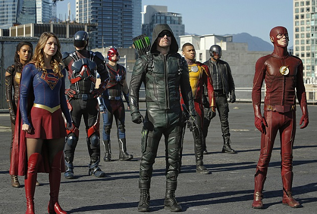 Supergirl Flash Arrow Legends Crossover