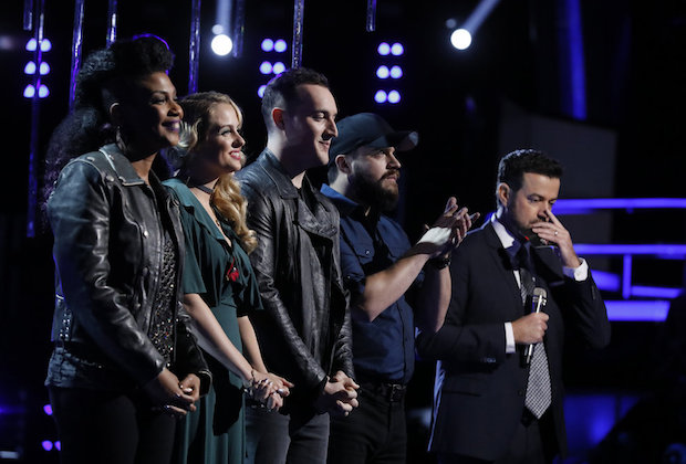 the voice darby walker eliminated