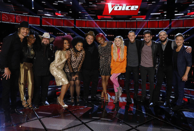 The Voice top 12 results recap