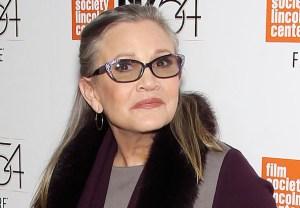 Carrie Fisher Dead Dies Star Wars
