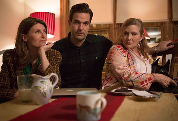 Carrie Fisher Dead Catastrophe TV Amazon