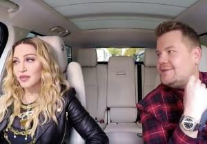 Madonna Carpool Karaoke Video