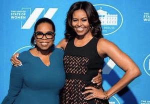 Oprah Michelle Obama