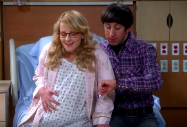 The Big Bang Theory Bernadette Baby