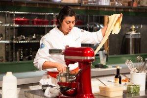 Top Chef Silvia Barban Pasta